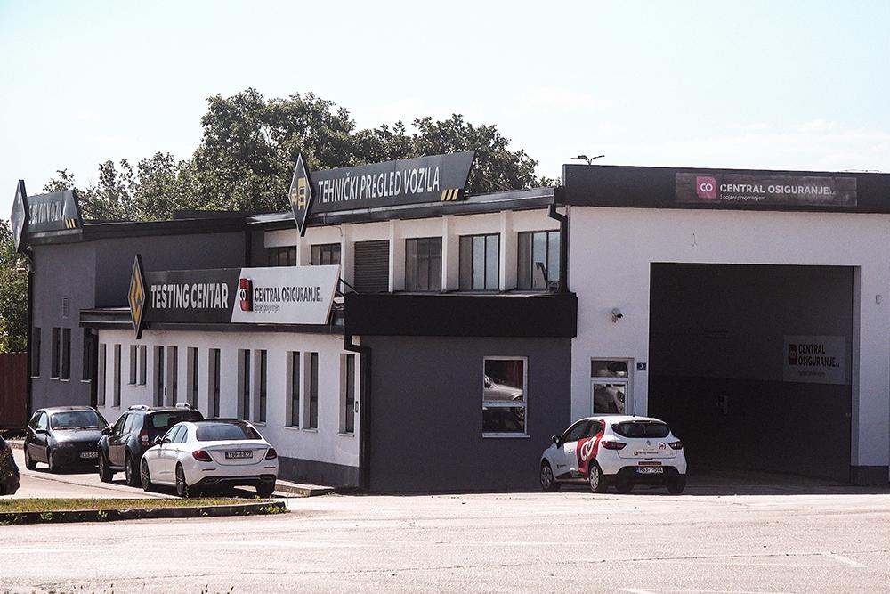 """""""Testing centar"""" je promijenio nekoliko vlasnika bliskih HDZBiH, ostvarivši najveće prihode od naplate tehničkih pregleda i EKO testova tokom prethodne četiri godine. U julu 2021. ga je kupila grupacija """"Asa Assistance"""" (Foto: CIN)"""